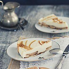 Delirium de chocolate blanco y galleta con toque de caramelo
