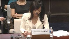 Anastasia Lin testifying before U.S Congress on religious persecution in China. (Image: China Uncensored via Screenshot/Screenshot) http://www.visiontimes.com/2016/06/14/miss-world-canada-anastasia-lin-wins-best-actress-at-leo-awards.html