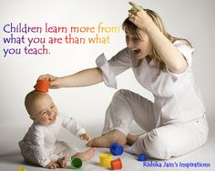 Children learn with their eyes