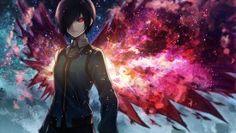 Tokyo Ghoul Kirishima Touka Angel31424 Image Anime Girl Kagune Wings 1440×900