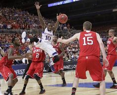 """I am Tyshawn Taylor, they call me """"the ferrari"""" because I fly ~ #2 KU vs #11 NC State ~ 3.23.12"""