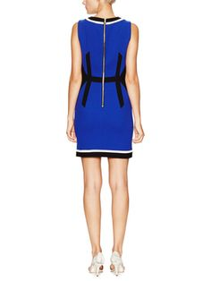 Wool Darted Sheath Dress from Primary Pop: Right-Now Hues on Gilt