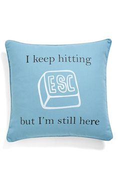 Clever pillow!