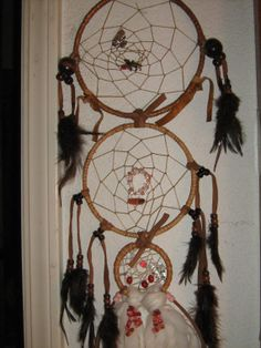 Twilights New Moon Triple Dreamcatchers are by DreamCatcherMan, $79.50