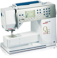 Bernina Aurora 400QE - so enjoyable to use this machine.  Still haven't used all the options.