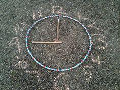 I'm a teacher, get me OUTSIDE here!: An outdoor clock