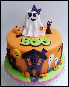 Boo - Cake by Time for Tiffin