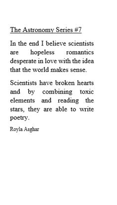 Science and poetry. 💝 My night got a li'/l better. Poem Quotes, Words Quotes, Wise Words, Sayings, Pretty Words, Beautiful Words, Einstein, Word Porn, Writing Inspiration