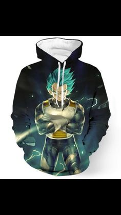 Vegeta, Freezer Hoodie   Tag a friend who would love this!   FREE Shipping Worldwide   Get it here ---> https://www.shenronstore.com/majinvegetafreezerhoodie/