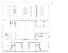 John Pawson | Baron House | HIC Arquitectura. Arquitectura. Dibujos. Plantas. John Pawson