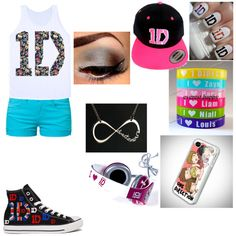 """""""Directioner outfit"""" by gotta-love-greyson-chance on Polyvore"""