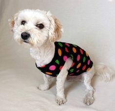 dog tee shirt dog tank top puppy clothes dog by HappyDogLucky
