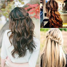 Waterfall Braid,nice French braided hairstyle