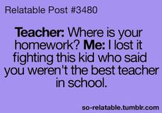 Shhhh don't tell your teachers I told you this!!!