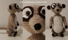 From now on, Eddi is watching everything in its surroundings. And seriously, who doesn´t like this cute littel ones? Super, as a toy pet, to cuddle and love, or as a decoration. How about one for you? Crochet one for yourself, here is the pattern to it.