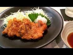 Best meal for fatigue recovery - Tonkatsu (Dish up)