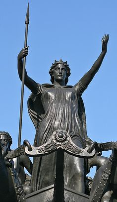 Boudicca by Mark Coates ~Boudicca was queen of the British Iceni tribe, a Celtic tribe who led an uprising against the occupying forces of the Roman Empire. @Wikipedia