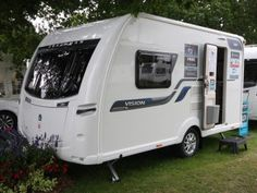 Coachman Vision 380 - Practical Caravan Camping Trailer For Sale, Travel Trailer Camping, Tiny Trailers, Cargo Trailers, Travel Trailer Interior, Lightweight Travel Trailers, Cargo Trailer Conversion, Pickup Camper, Caravans For Sale