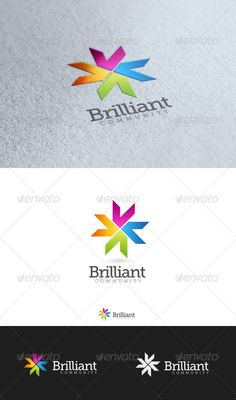 Brilliant Thing - Logo Design Template Vector #logotype Download it here: http://graphicriver.net/item/brilliant-thing/3530172?s_rank=313?ref=nexion