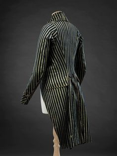 Coat, 1780s-1790s, The John Bright Collection.