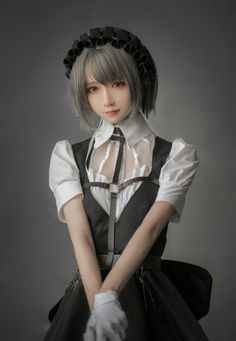 Kawaii Cosplay, Cute Cosplay, Amazing Cosplay, Cosplay Outfits, Best Cosplay, Anime Cosplay, Cosplay Girls, Maid Cosplay, Cute Asian Girls