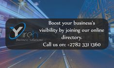 Add Your Business Online Marketing, South Africa, Online Business, Join, Names, How To Get, Website, Free