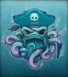 Pulpo Pirata.