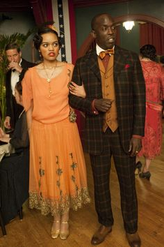 Michael Kenneth Williams as Chalky White – Boardwalk Empire 1920s men's style