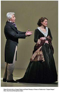 Costumes from Eugene Onegin  Pictured: Dmitri Hvorostovsky and Renee Fleming.