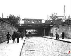 Wrocław - ul. Pułaskiego, wiadukt kolejowy od strony północnej (1892) Genius Loci, Ul, Old Photos, Poland, Germany, Old Things, Street View, History, Places