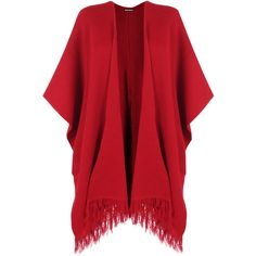 Shawls are back in style and what better way to get the trend than with these fantastic tassel hem knitted short shawls.  Featuring a long open fit that is ide…