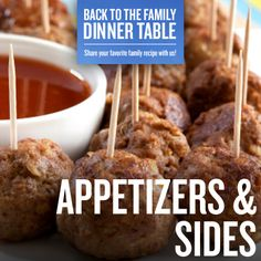Appetizers & Sides