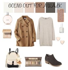 """""""Going Out"""" by limitedk ❤ liked on Polyvore featuring Journee Collection, Bobbi Brown Cosmetics, Chanel, Essie, Poppy Finch, Henri Bendel, Eleventy and Uniqlo"""