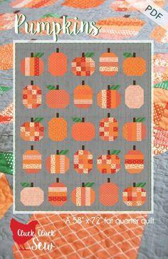Pumpkins #167, PDF Pattern