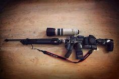 Sniper Rifle Camera Gear