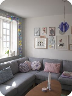 I want this level of peace in my living room.  But I can never get it to stay tidy...
