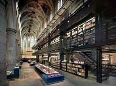 Selexyz Dominicanen Bookstore by Merkx+Girod Architecten - For some, the bookstore is a sanctuary.
