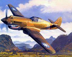 Flying Tiger Curtiss P-40 Warhawk