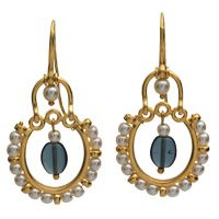 Byzantine Pendant Earrings