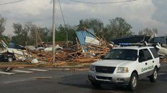 deadly tornados in Alabama and Oklahoma April 2014