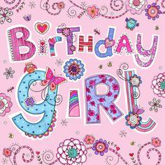 Clare Caddy - Birthday Girl Blue