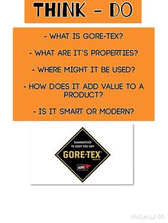 Goretex A Level Revision, Exam Revision, Educational Technology, Science And Technology, Design Tech, Exam Papers, Classroom Quotes, Aqa, Teaching Resources