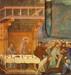 La morte del cavaliere di Celano subito dopo la confessione