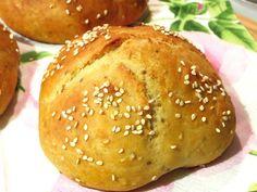 Rezepte mit Herz ♥: Schnelle Vollkorn - Quarkbrötchen mit Sesam und Ch...