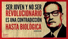 11/09/1973 - Foi há 40 anos que os USA / CIA derrubaram um governo eleito Salvador Allende no Chile, recrutando o tenebroso Augusto Pinochet para o golpe militar. Instaurou-se uma ditadura que impôs ao país o modelo economico neoliberal baseado nas ideias de Milton Friedman.
