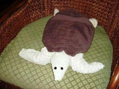 Towel Sea Turtle