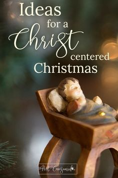 Our Favorite Ideas for a Christ-Centered Christmas If you ever feel like the holidays quickly become consumed with commercialism you'll love these simple Ideas for a Christ-Centered Christmas! Christmas Jesus, A Christmas Story, Simple Christmas, Family Christmas, Christmas Holidays, Christmas Ideas With Kids, Christian Christmas Crafts, Holiday Ideas, Christmas Decorations