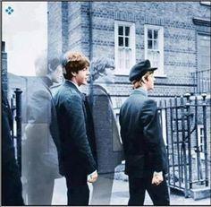 George Harrison, Paul McCartney, John  Lennon, and Richard Starkey