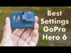 Here are a few tips for the best video settings on the GoPro Hero 5 & 6 Black. I teach you a few quick and easy tips to make the most of your new GoPro and g. Gopro 6, Gopro Video, Gopro Hero 5, Leica Camera, Film Camera, Nikon Dslr, Camera Gear, Newest Gopro, Photography Camera