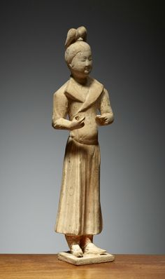 Dame, Chine, Dynastie des Tang (618 – 907), ca 8° siècle